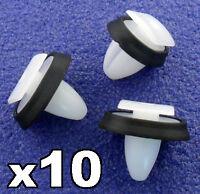 10x Citroen Relay Exterior Side Moulding Rub Bumpstrip / Lower Door Trim Clips