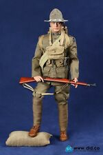 "DID WWI American Infantry of Expeditionary Force 1/6 Scale 12"" Buck Jones 11009"