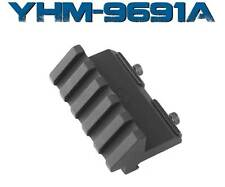 YHM Yankee Hill Machine - 5 Slot Angle Riser Dovetail Offset Mount - YHM-9691A