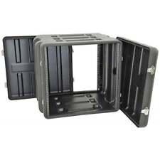 "CITRONIC 19"" 10U LLDPE ABS 10U Rack Case Transport Flightcase Flight Case Amp"