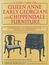 Irish Queen Anne Georgian Chippendale Furniture Chairs Desks High Chests / Book