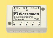 Viessmann 5067 Leuchtstoffroehren-Simulator #NEU in OVP#