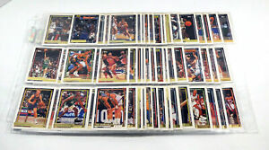 Lot of (128) Different 1992-93 Topps Gold Basketball Cards