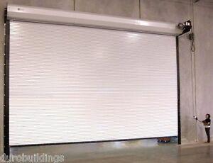 DuroSTEEL JANUS 18'W x14'H Commercial 2500 Series Heavy Duty Rollup Door DiRECT