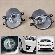 Left Right Fog Lights Lamps Fit For Toyota Camry Corolla Yaris Lexus GS350 2013