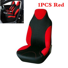 1Pcs Red Car Front Seat Cover Sport Styling For Interior Accessories Seat Cover