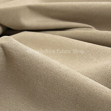 10 Meters Quality Highland Wool Effect Chenille Curtain Upholstery Cream Fabric