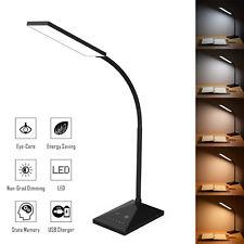 72LED Flexible USB Touch Sensor Desk Lamp Study Reading Light 5 Mode Night Light