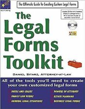 The Legal Forms Toolkit: All the Tools You'll Need to Create Your Own Customized