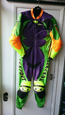 TEXPORT SIZE 52 ONE PIECE LEATHER MOTORCYCLE SUIT LEATHERS