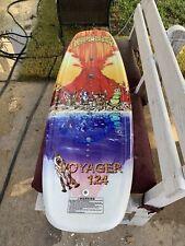 Vintage Hyperlite Wakeboard Voyager 124 2263 Tooney 99/12 Great Graphics