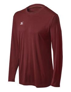 #NEW# Mizuno Hybrid Shirt Top - Long Sleeves - solid color