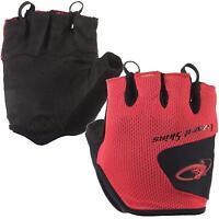 Lizard Skins Aramus Short Finger Gloves Crimson X-Large Bike