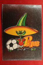 PANINI MEXICO 86 WORLD CUP MASCOTTE # 3 WITH ORIGINAL BACK!!