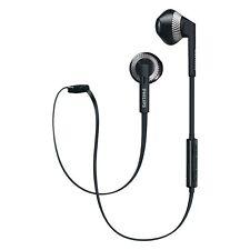 Philips SHB5250 Wireless Bluetooth Earphones Headphones Headset + Microphone BLK