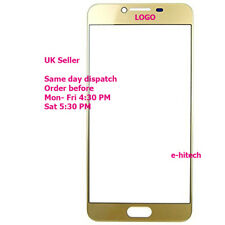"""Samsung Galaxy C7 C7000 5.7"""" avant tactile Touch Screen Outer Glass Panel Gold + outils"""