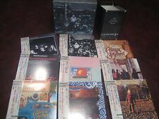 ALLMAN BROTHERS JAPAN REPLICA TREMENDOUSLY RARE 9 OBI CD SET 2018 SPECIAL PRICE