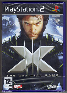 PS2 X-Men: The Official Game (2006) Brand New & Sony Factory Sealed
