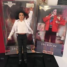 1997 Michael Jackson Singing Black Or White Doll With Beat It Song + Outfit Rare