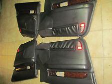 2000-2001-2002 LINCOLN LS DOOR PANELS BLACK