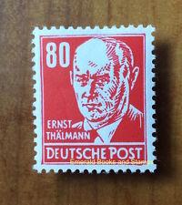EBS East Germany DDR 1953 Ernst Thälmann 80Pf MNH Michel 340v**