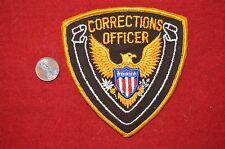 Corrections Officer Guard Police Eagle Patch