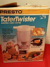 Presto Tater Twister Spiral Curly Fries Potato Food Sclicer  Nice