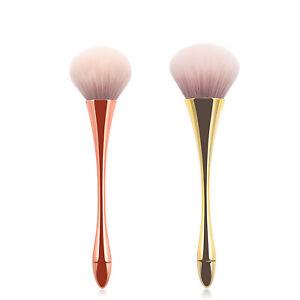 2Pcs Makeup Brushes Cosmetic Eyebrow Blush Foundation Powder Kit Set Beauty