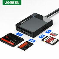 Ugreen SD Card Reader USB 3.0 OTG Card Hub Adapter 5Gbps Fr SD/Micro SD/TF/CF/MS