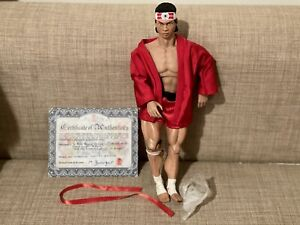 "MB Custom Figures BOLO YEUNG ""Chong Li"" Bloodsport 1/6 Figure COA/No Box*"