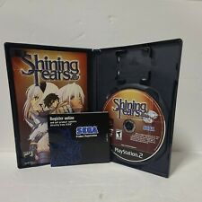 Shining Tears (Sony PlayStation 2, 2005) - CIB - COMPLETE - RARE - RPG