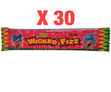 30 Wicked Fizz Chews - Berry | Candy Sweets Lollies Lolly Party Favours Favors