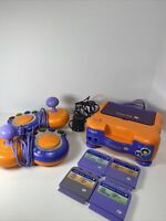 Vtech Vsmile TV Learning System Bundle, 2 Controllers And 4 Games PreOwned Works