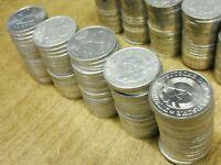 DDR , 100 x 2 Mark ALU , Lot / Posten mit 100 Stück ( Verschiedene Jahre )