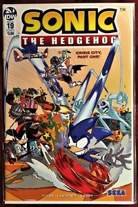SONIC The HEDGEHOG Comic Book IDW #19 A Cover July 2019 Bagged Boarded MINT