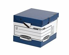 112794 - Fellowes Bankers Box System Store Cube with Ergo Handles (Pack of 10)