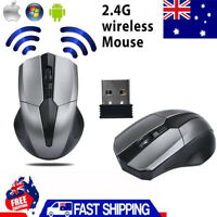 2.4GHz Mice Optical Mouses Cordless USB Receiver PC Computer Wireless For II i