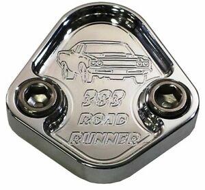 Fuel Pump Block Off Plate Fits Plymouth Mopar Roadrunner 383 Engines F062