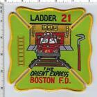 Boston Fire Department (Massachusetts) Ladder 21 Shoulder Patch