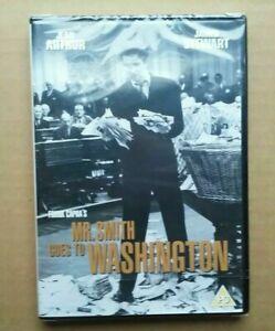 Mr Smith Goes to Washington - 1939 B & W Comedy Drama Movie (DVD) NEW & SEALED