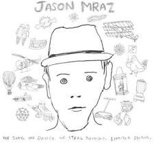 Jason Mraz - We Sing We Dance We Steal Things (Lastin Album) [New CD]