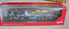 Herpa HO 1:87 Renault Airbrush Rosner Merlin Nowotny Tractor Trailer Truck NIB