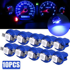 10X T5 B8.5D 5050 1SMD LED Dashboard Dash Gauge Instrument Interior Light Bulbs