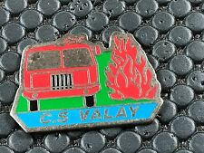 PINS PIN BADGE SAPEUR POMPIER FIRE VALAY