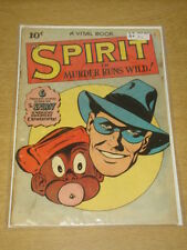SPIRIT #3 G+ (2.5) QUALITY COMICS 1945 <