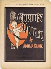 Cupid's Quiver, Newspaper Supplement Sheet Music, NY Sunday Press, 1901