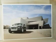 2009 Rolls Royce Ghost Sales Brochure with PHOTO and Paper Box