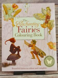 The Enchanting Fairies Colouring Book (Colouring Books) New Paperback Book