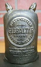 Antique MAUSER MILL Pa GIBRALTAR NORTHWESTERN SPRING WHEAT Advertising Inkwell