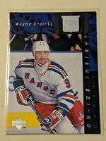 1996-97 Upper Deck On-Ice Insight #361 Wayne Gretzky New York Rangers Card